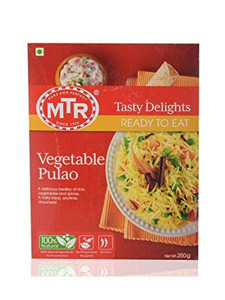 MTR Ready To Eat Vegetable Pulao 250gm